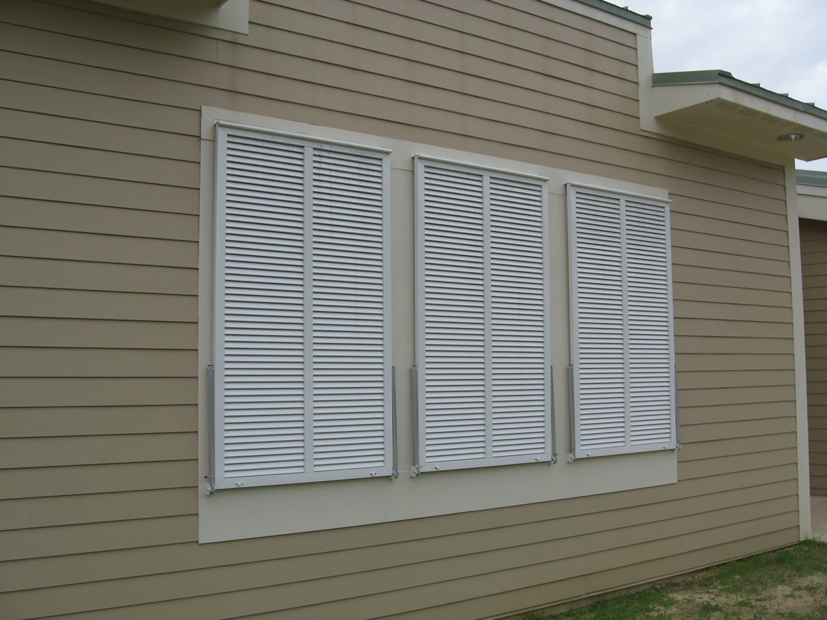 Austin Bahama Shutters from The Shading Co.