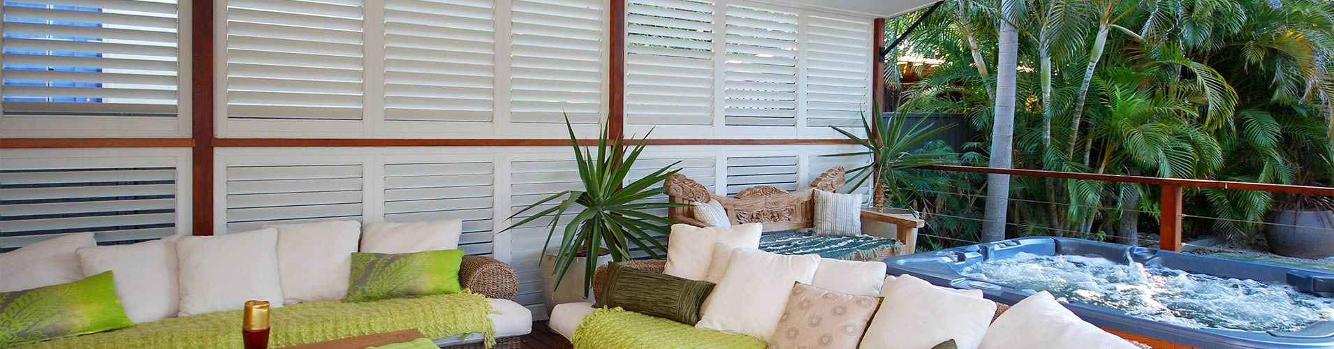 Austin Outdoor Plantation Shutters The Shading Co