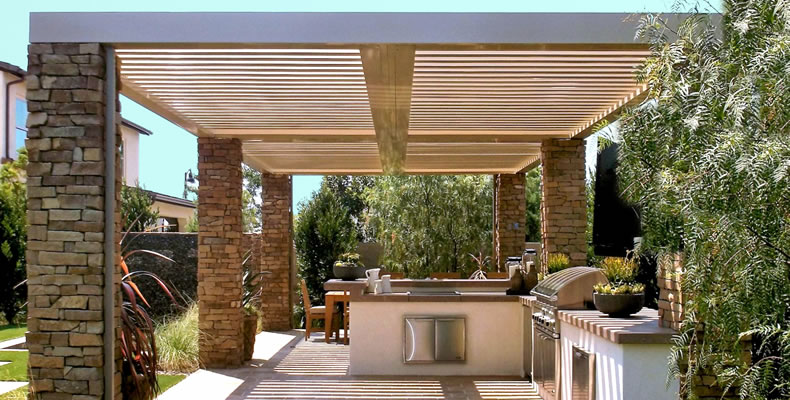 Louvered Roof Austin Patio Cover