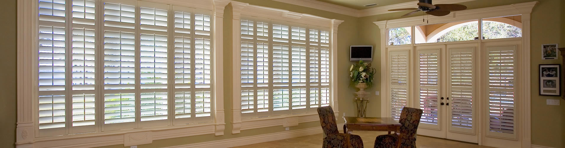 Exterior: Austin Plantation Shutters, Wood & Faux Shutters, Texas