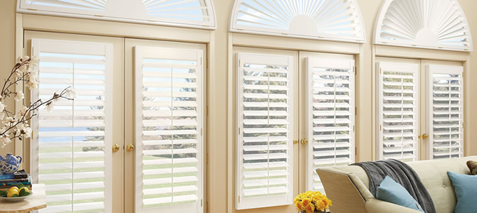 Cedar Park Hunter Douglas plantation shutters Texas