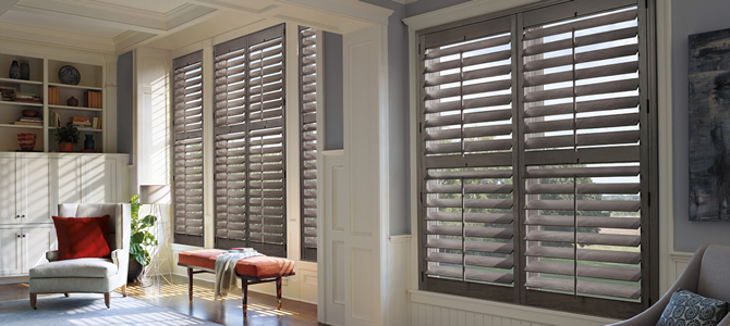 Cedar Park TX Wood Plantation Shutters