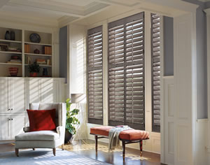 Austin TX plantation shutters from Hunter Douglas