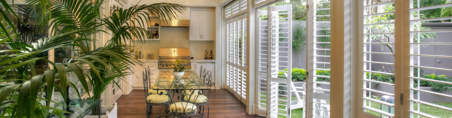 Outdoor Plantation Shutters - Austin, TX